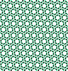Seamless hexagons texture.