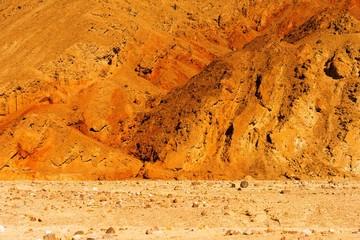 Raw Death Valley Badlands