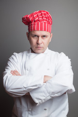 Chef with red hat