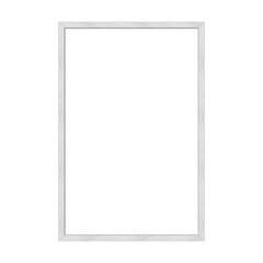 Picture frame, metal brushed, DIN format, 1:5