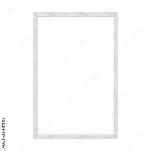 Picture frame, metal brushed, DIN format, 1:5