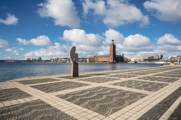 The Stockholm City Hall in Sweden