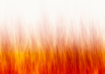 red flame fire texture on white backgrounds