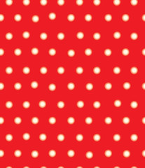Vector red polka dots seamless pattern, blurred , soft effect.