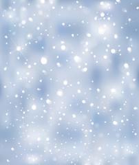 Vector blue sparkle background.