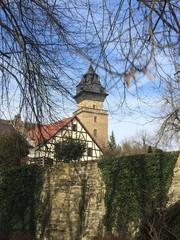 Stadtmauer und Neuensteiner Schloss