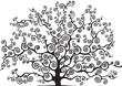 albero con rami curvi - 80378085