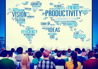Productivity Vision Idea Efficiency Growth Success Concept