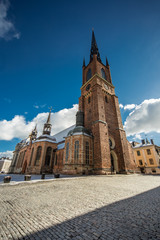 Riddarholm Church, Riddarholmen, Old town, Stockholm, Sweden.