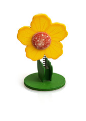Reminder clip in the flower shape