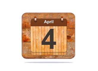 April 4.