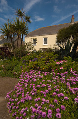 Pretty Cottages in St Mary's on the Scilly Isles