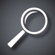 Vector search icon - 80382455