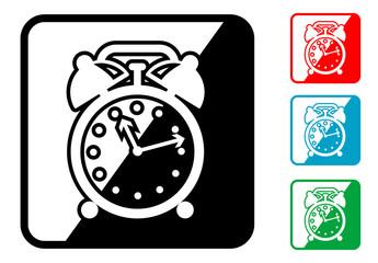 cono simbolo despertador en varios colores