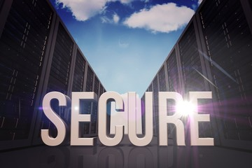 Composite image of secure
