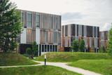 Fototapeta Modern building on campus