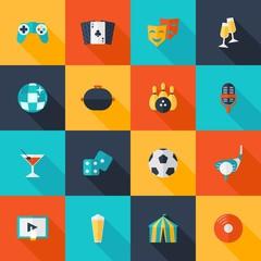 Entertaining Icons Set