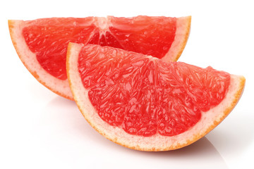 Two Slice Grapefruit