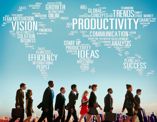 Productivity Vision Idea Efficiency Growth Success Solution