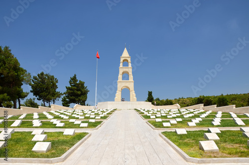 Martyrs' Memorial, Canakkale, Turkey
