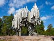 Sibelius monument in Helsinki, Finland - 80385046