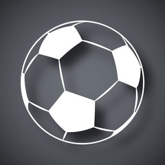 Vector football icon