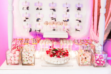 marshmallow buffet