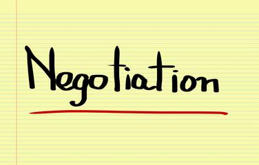 Negotiation Concept