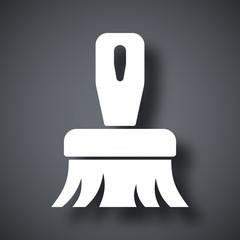 Vector brush icon