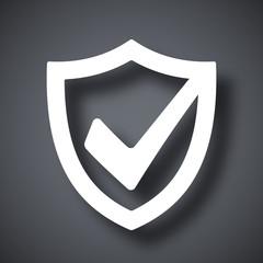 Vector security shield icon