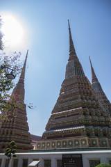 Pagodas in Pho temple
