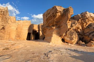 Tuff cave of Favignana, Sicily