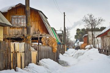 Старые дачные постройки