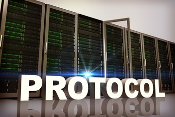 Composite image of protocol