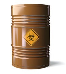 Biohazard barrel
