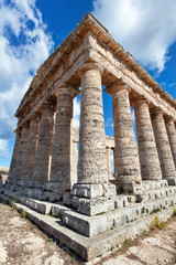 Ancient greek temple of Segesta, Sicily