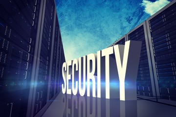Composite image of security