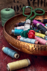 threads and other tools dressmaker