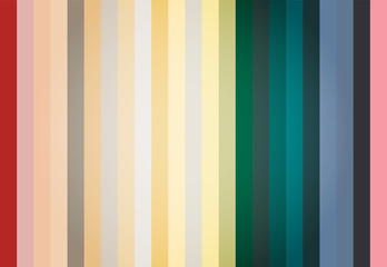 Retro Colored Palette Guide Abstract Vector