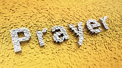 Pixelated Prayer