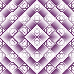 Infinite geometric pattern