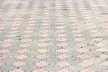 Abstract background - gray paving slabs
