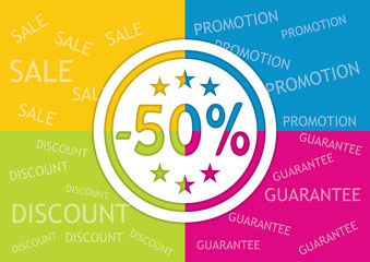 Editable banner for discount actions