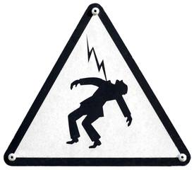 Danger d'électrocution