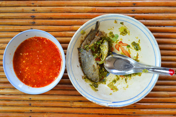 fermented fish and chili paste