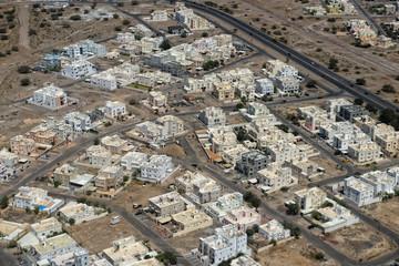 muscat arabic town aerial view landcape