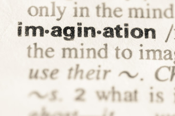 Dictionary definition of word imagination