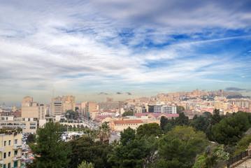Sardegna, Cagliari, panorama della città