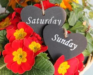 Grüße zum Wochenende