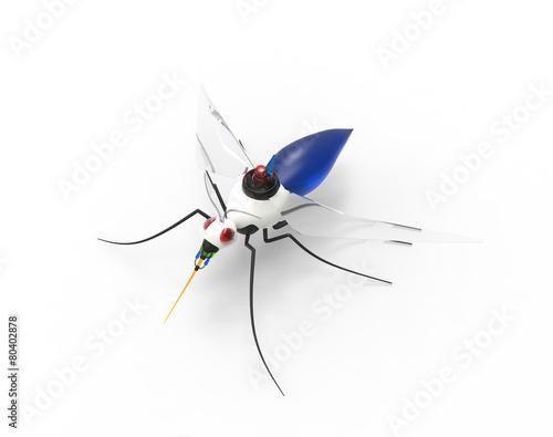 Futuristic Mosquito Nano Robots - 80402878